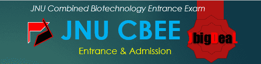 JNU CBEE 2018 - JNU Combined Biotechnology Entrance Exam 2017