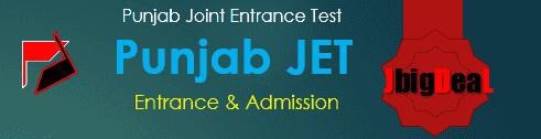 Punjab JET 2021 : Punjab Joint Entrance Test 2021
