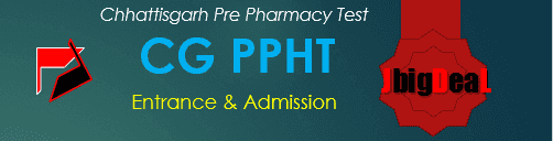 CG PPHT 2019 Chhattisgarh Pharmacy Entrance