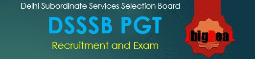 DSSSB PGT Domestic Science Exam 2018