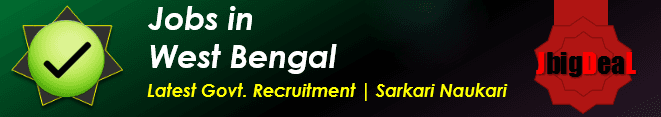 Jobs in West Bengal 2018 Latest Govt. Job in WB 2018