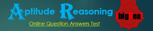 Reasoning and Aptitude Question Answers