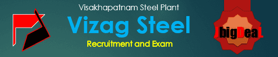Visakhapatnam Steel Plant Recruitment Examination 2019.