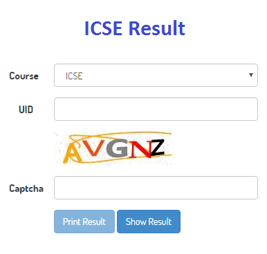 How to check ICSE Result 2017 online?