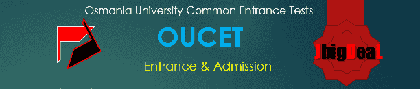 OUCET 2018 Osmania University Common Entrance Tests 2018