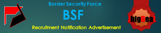 BSF ASI & HC Recruitment 2016 Online Application form