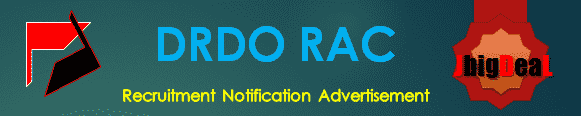 DRDO RAC Recruitment 2018 Online Application Form