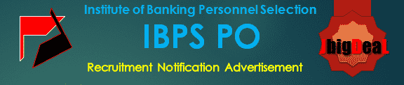 IBPS PO Recruitment 2016 Online Application Form