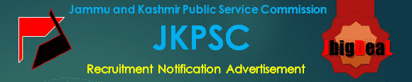 JKPSC Recruitment 2019 Online Application Form