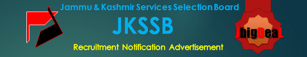 JKSSB Recruitment 2018 Online Application Form