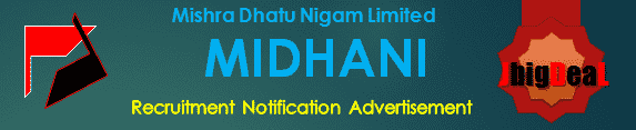 MIDHANI Recruitment 2018 Application Form