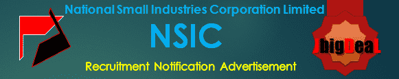 NSIC Recruitment 2018 Online Application Form