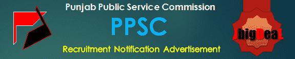 PPSC Recruitment 2018 Online Application Form