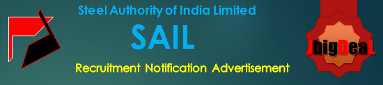 SAIL Recruitment 2019 Online Application Form