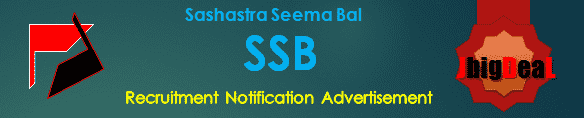 SSB Constable Recruitment 2019 Online Application