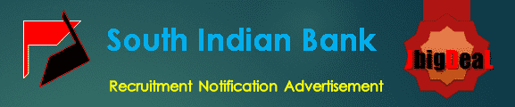 South Indian Bank Recruitment 2018 Online Application Form