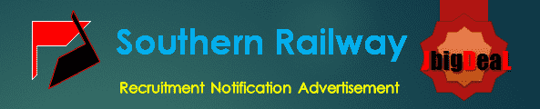 Southern Railway Recruitment 2018 Online Application Form