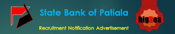 State Bank of Patiala Recruitment 2016 Application Form
