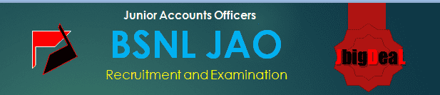 BSNL JAO Recruitment 2018 Exam