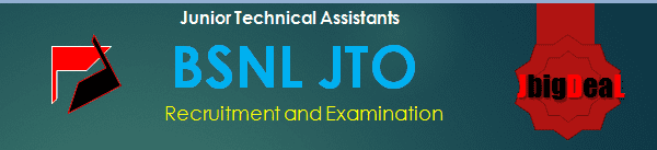 BSNL JTO (Junior Technical Assistants) Recruitment 2018