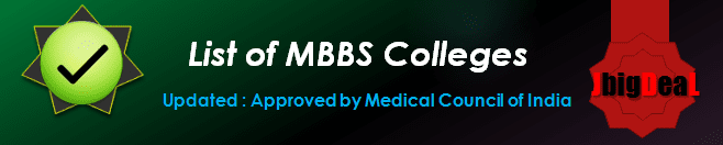 List of MBBS colleges in India