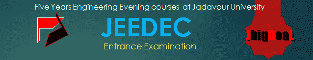 JEEDEC 2018 Admission into Five Years Engineering Evening courses