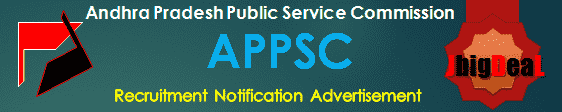 APPSC Recruitment 2019 Online Application Form