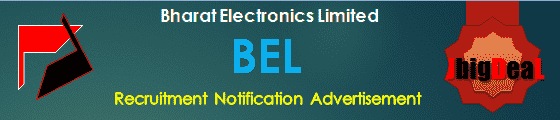 BEL Project Engineer Recruitment 2020 Online Application Form