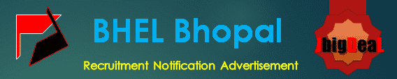 BHEL Bhopal Recruitment 2018 Online Application Form