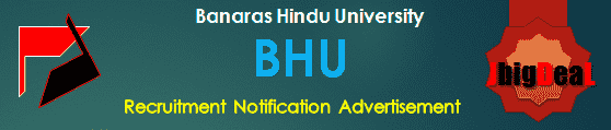 BHU Recruitment 2019 Online Application Form
