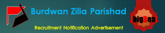 Burdwan Zilla Parishad Recruitment 2016 Online Application Form