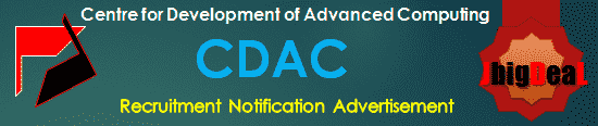 CDAC Recruitment 2018 Online Application Form