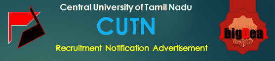 CUTN Recruitment 2017 Application Form