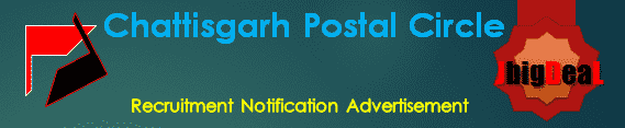 Chattisgarh Postal Circle GDS Recruitment 2019 Online Application Form