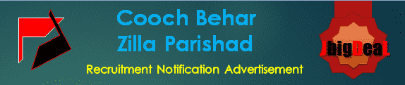 Cooch Behar Zilla Parishad Recruitment 2017 Online Application Form