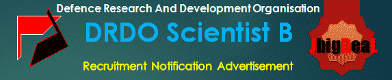 DRDO Scientist B Recruitment 2016 Online Application Form
