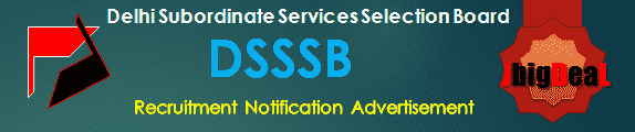 DSSSB Recruitment 2019 Online Application Form