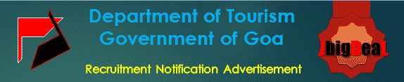 Department of Tourism Government of Goa Recruitment 2016 Application Form