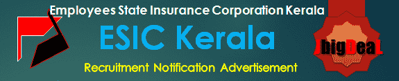 ESIC Kerala Recruitment 2017 Application Form