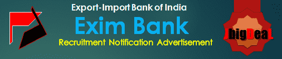 Exim Bank Manager Recruitment 2019 Online Application