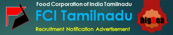 FCI Tamilnadu Recruitment 2017 Online Application Form