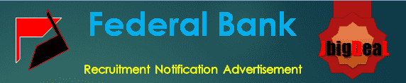 Federal Bank PO Recruitment 2017 Online Application Form