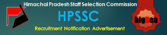 HPSSC Recruitment 2018 Application Form