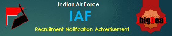 IAF Recruitment 2018 Application Form