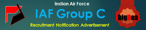 IAF Group C Recruitment 2017 Application Form