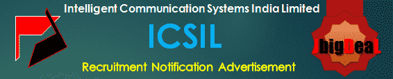 ICSIL Recruitment 2018 Online Application Form