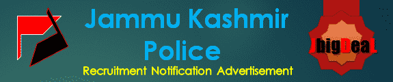 JK Police Recruitment 2018 Online Application Form