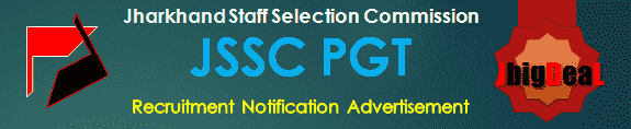 JSSC PGT Recruitment 2017 Online Application Form