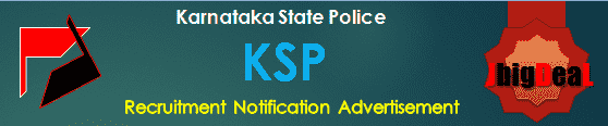 KSP Armed Police Constable & Civil Police Constable Recruitment 2019 Online Application Form