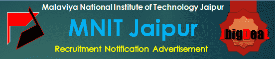 MNIT Jaipur Assistant Professor Recruitment 2020 Online Application Form